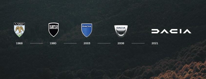 storia logo Dacia