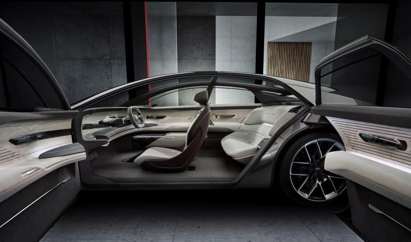 Audi Grandsphere concept portiere