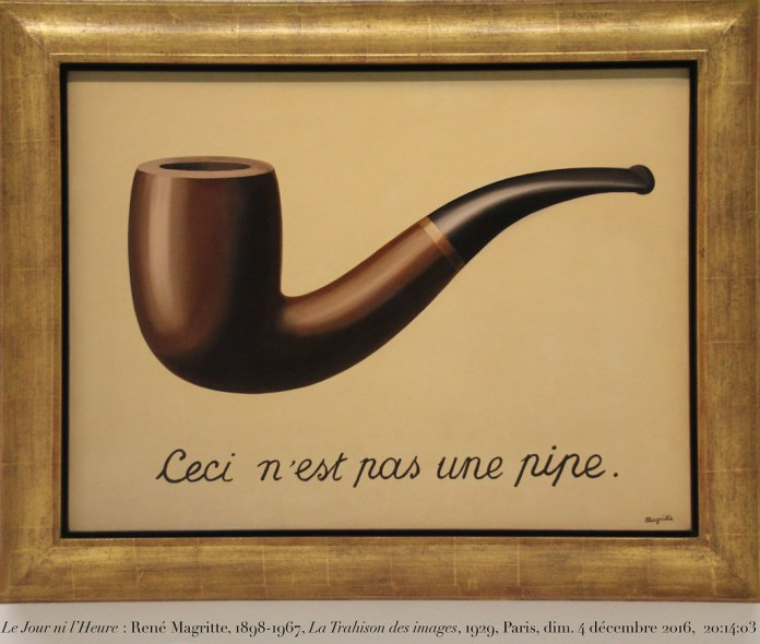Magritte ceci n'est pas une pipe