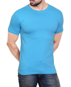 Plain Sky Blue T-Shirt