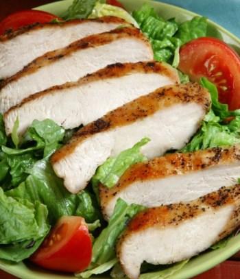 Kyckling magert kött vid deff