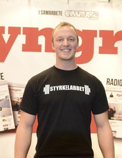 Daniel Richter Tyngre Fitnessfestivalen 2014