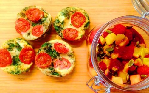 Frukostrecept Äggmuffins