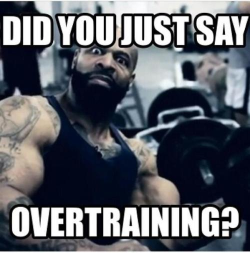 CT Fletcher overtraining