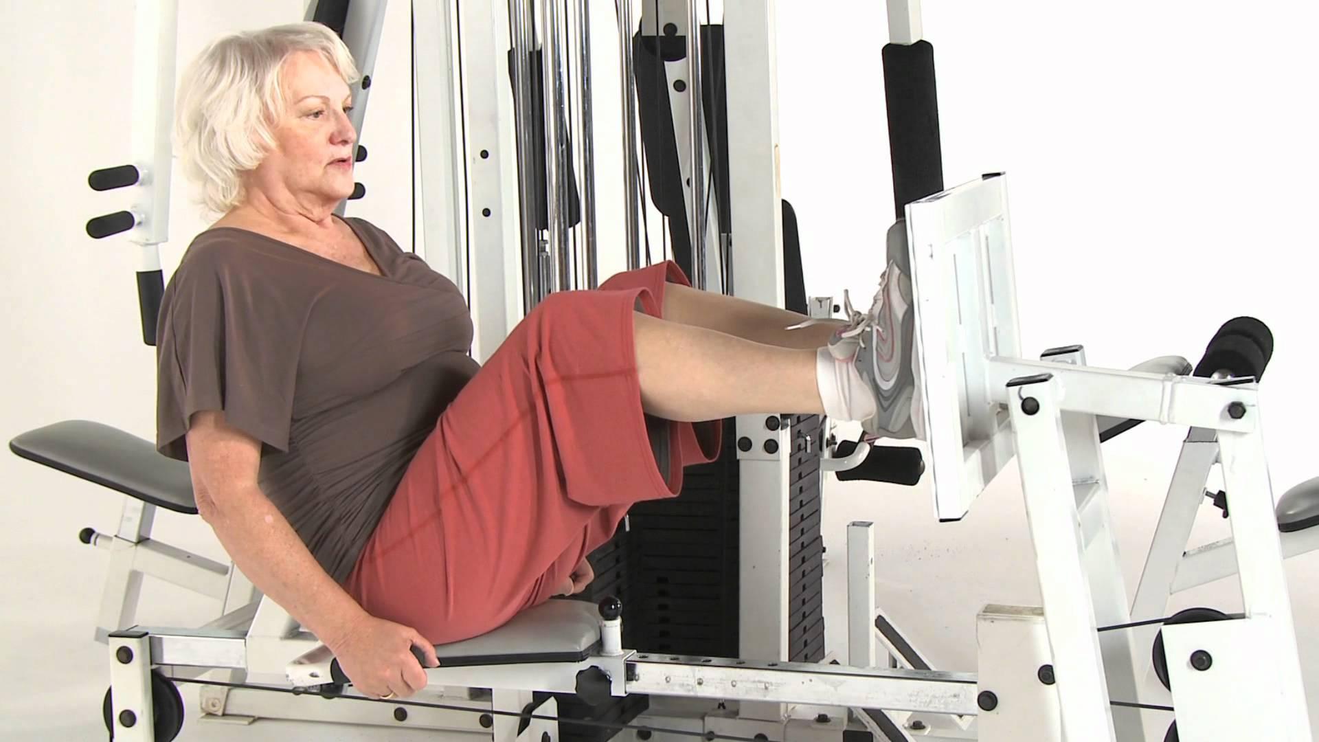 Styrketräning för äldre kvinnor
