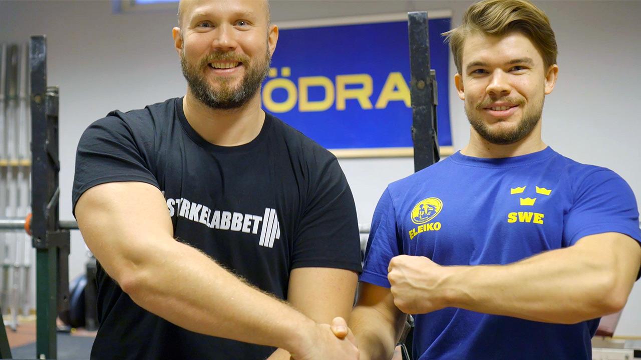 Philip Wildenstam och Alexander Eriksson