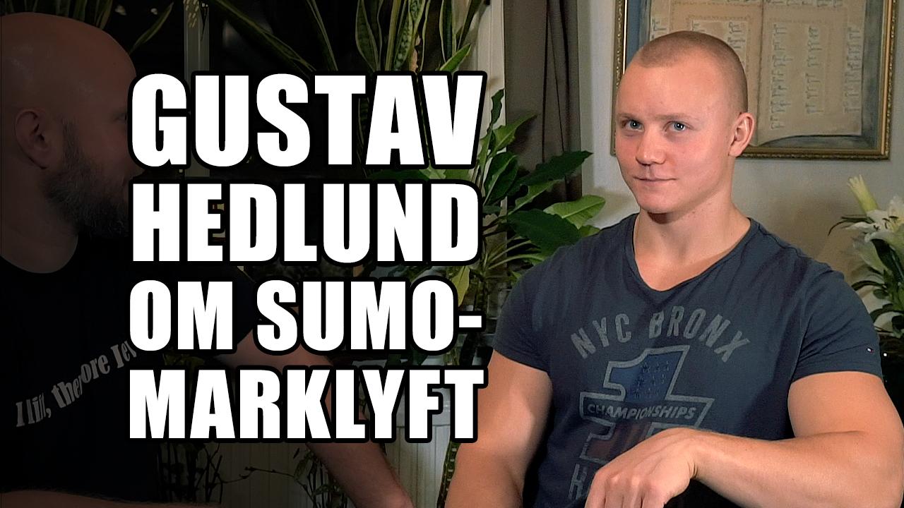 Gustav Hedlund berättar hur han tränar markllyft