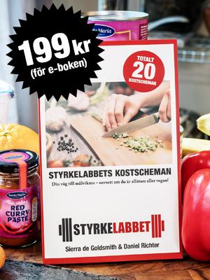 Köp Styrkelabbets kostscheman för 199 kr