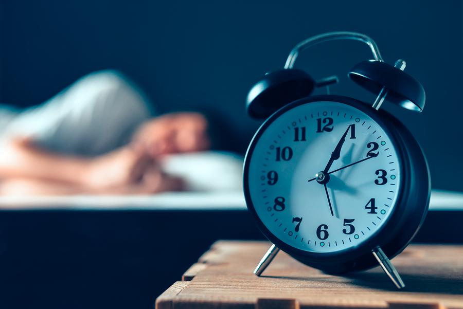 sömn och träning