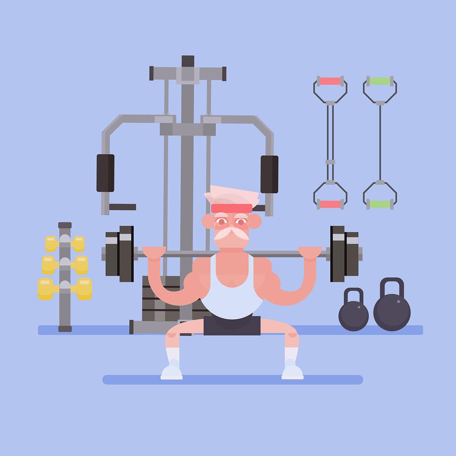 träning för äldre