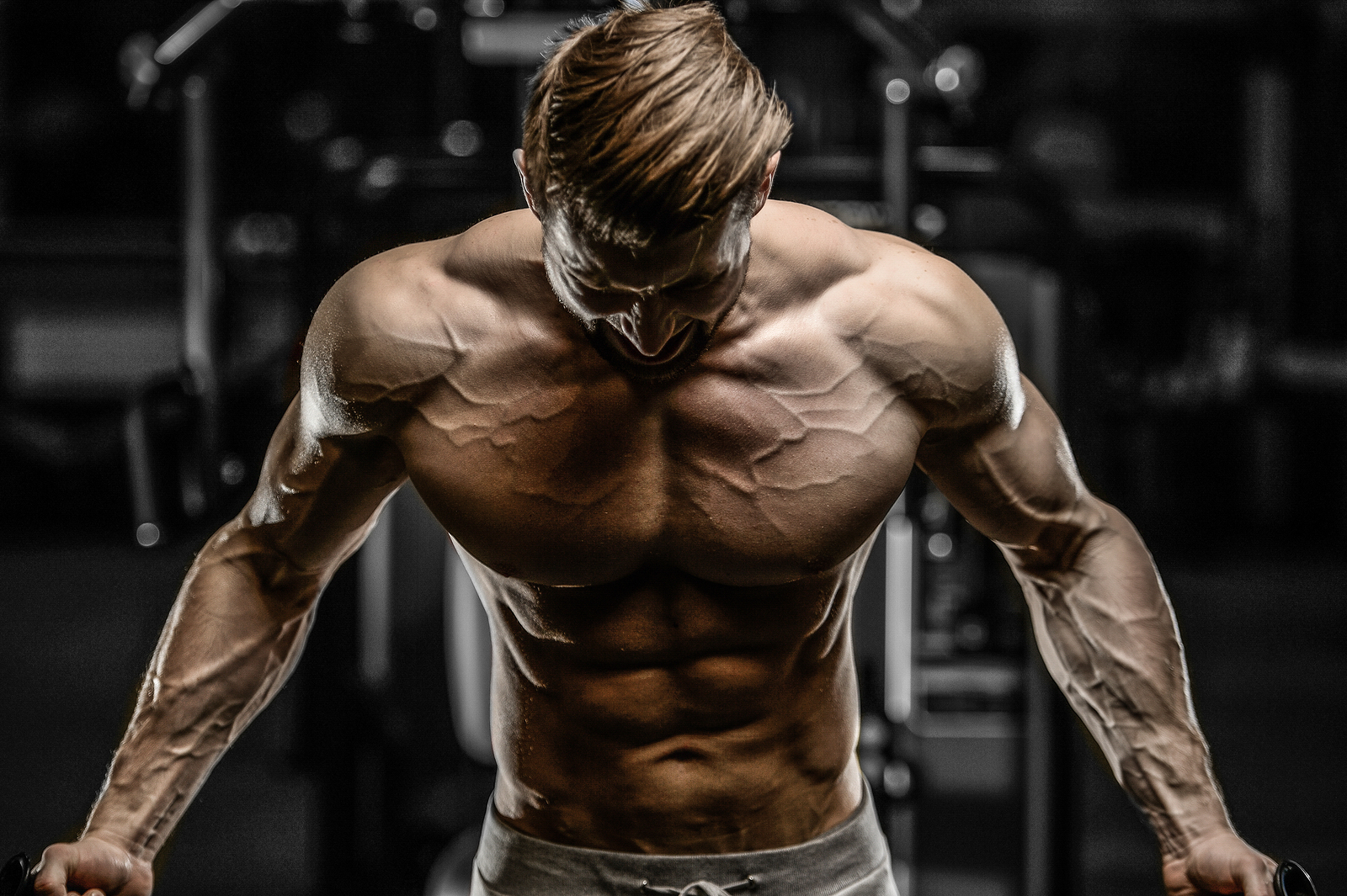 gå ner i vikt bygga muskler
