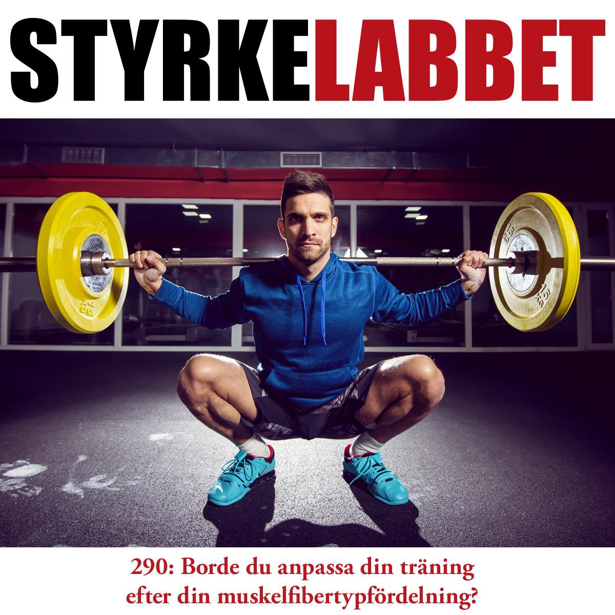Styrkelabbet avsnitt 290: Borde du anpassa din träning efter din muskelfibertypfördelning?