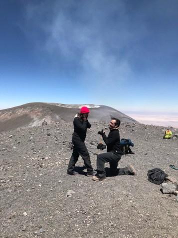 noivado no vulcão lascar