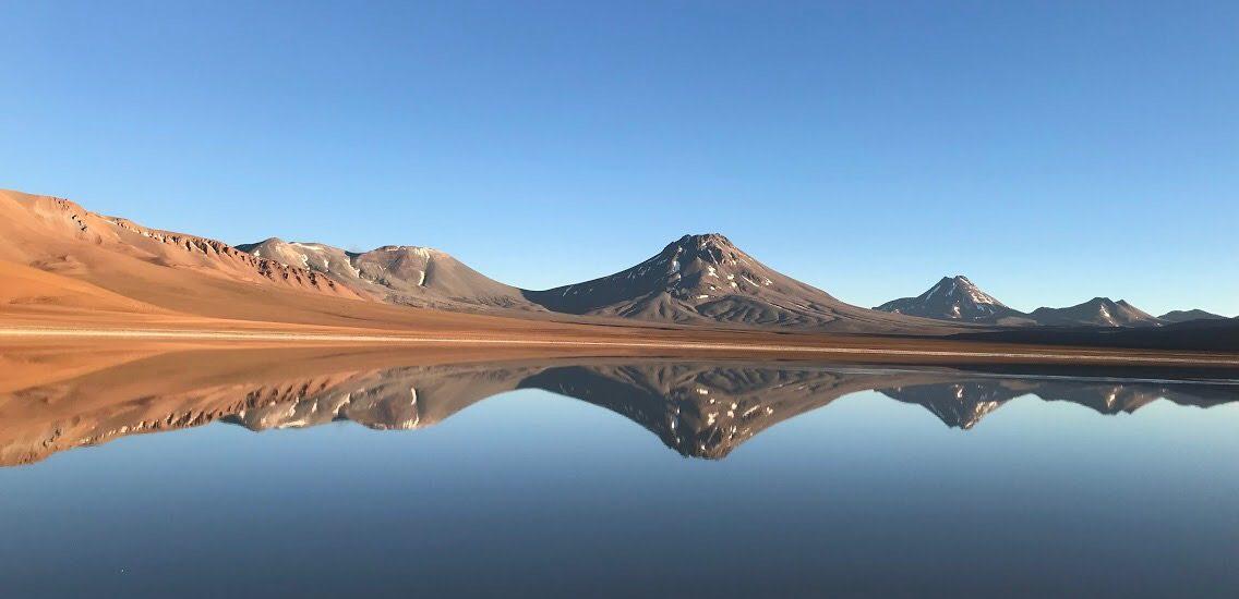 No topo do Vulcão Lascar