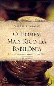 Capa do livro O homem mais rico da Babilônia, com lições preciosas para enriquecer você e sua família.