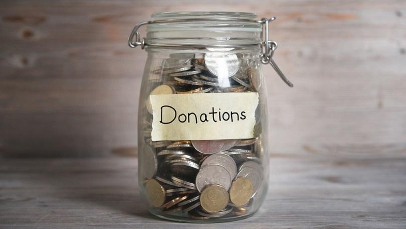 Pote da doação para complementar a gestão do dinheiro.