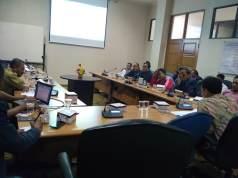 Rapat FBPD, DPMD, dan Komisi I gelar rapat terkait mekanisme pemilihan BPD. Foto: Sepri Parulian/Suara Bekasi Online