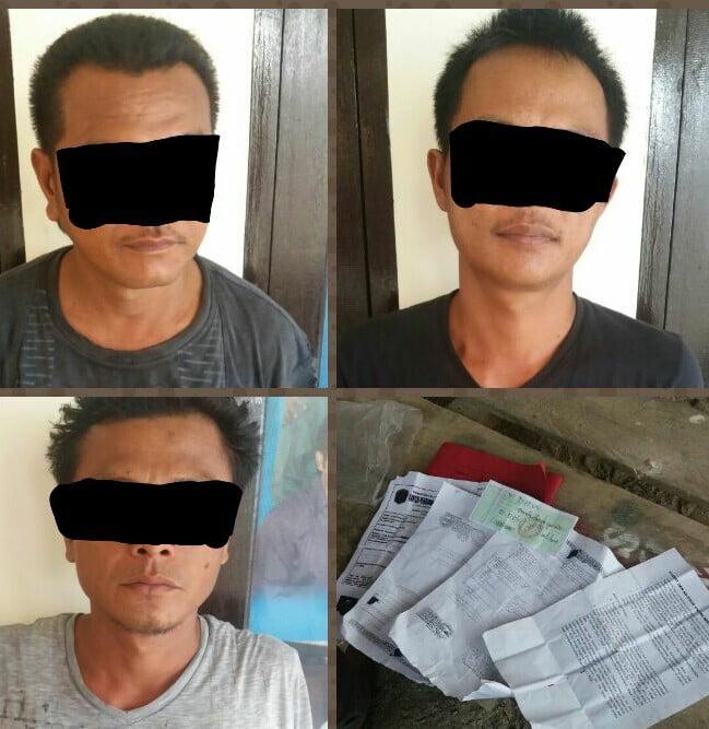 3 Orang Warga Pelalawan Lakukan Pungli kepada Supir asal Lampung