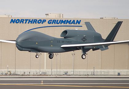 Northrop Global Hawk 26 March 2013