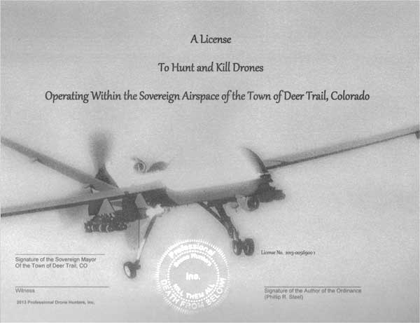 Drone-Hunting-License