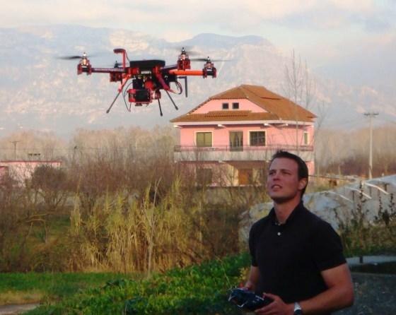 UAV in Albania
