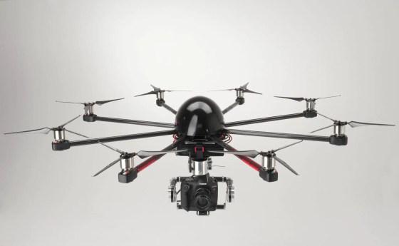 Skycrane - direct drive gimbal