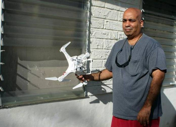 mysterydronecrash