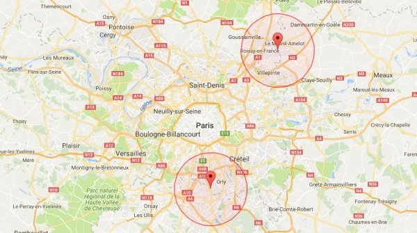 Drone flight restrictions in France mapped - sUAS News - The