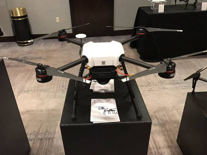 DJI Wind 1 on display at Airworks Expo