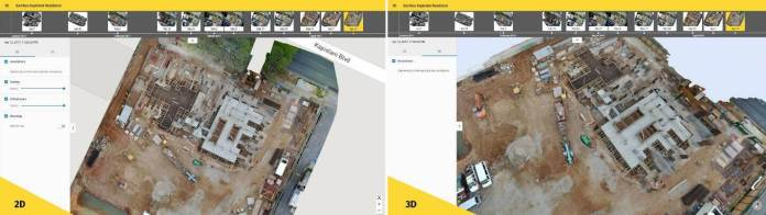More efficient construction management with Pix4Dbim - sUAS
