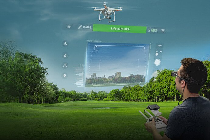 Epson Launches World's First Augmented Reality Drone Flight Simulator App Optimized for Smart Glasses