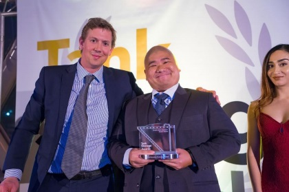Avetics Global fly high at Tank Storage Awards - sUAS News - The
