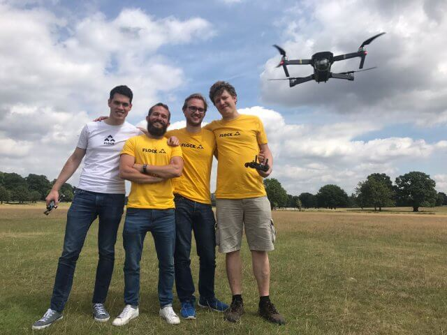 Flock commits £10,000 of free insurance coverage to drone operators combating COVID-19 - sUAS Information 1