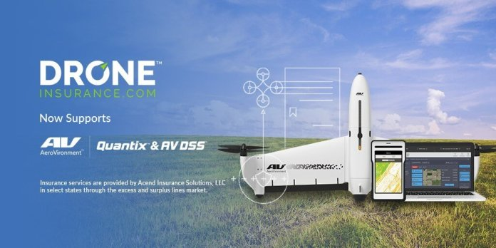 AeroVironment Collaborates with REIN's DroneInsurance com to Offer