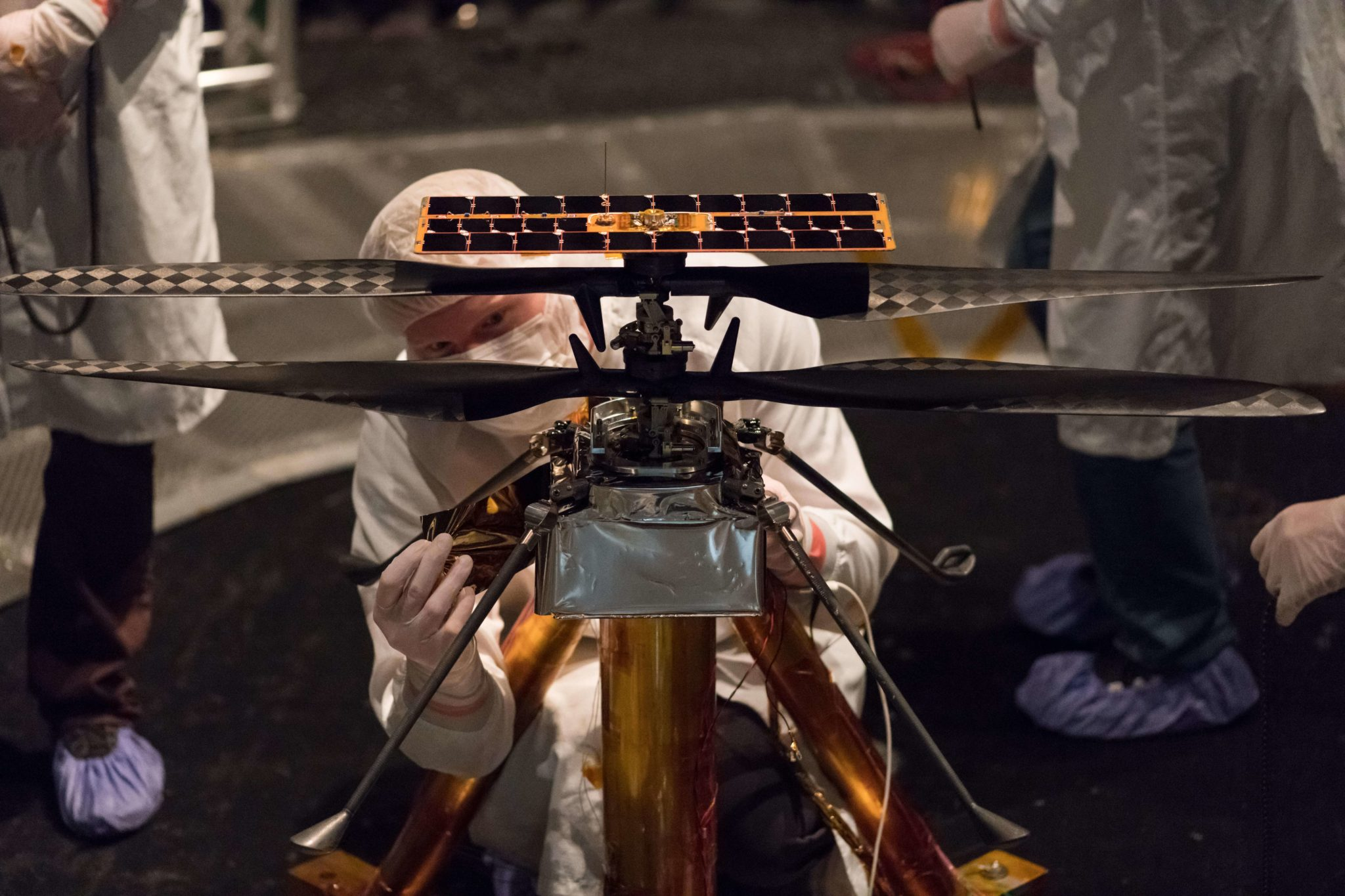 NASA's Mars Helicopter Passes First Test Flight With Flying Colors