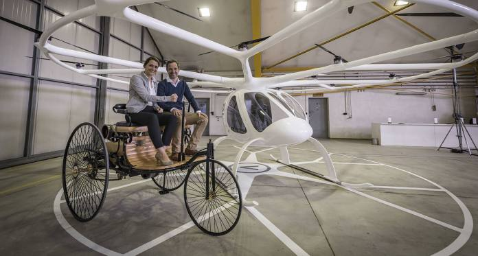 volocopter and benz
