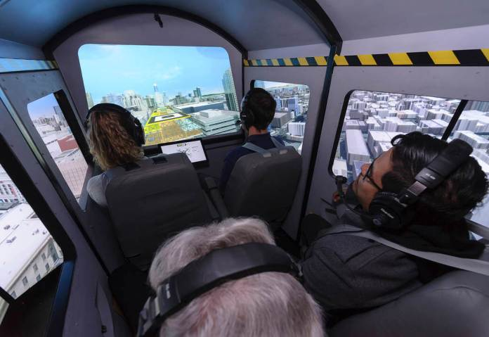 Air Taxi Trip High quality: In search of a Clean Trip on the Vertical Movement Simulator - sUAS Information 1