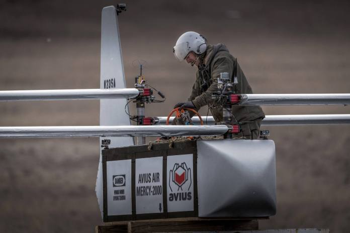 AVIUS Air Supply™ Readying Disposable Cargo UAV to Ship 1,600 lbs. of Emergency Provides to Fight Pandemic - sUAS Information 1