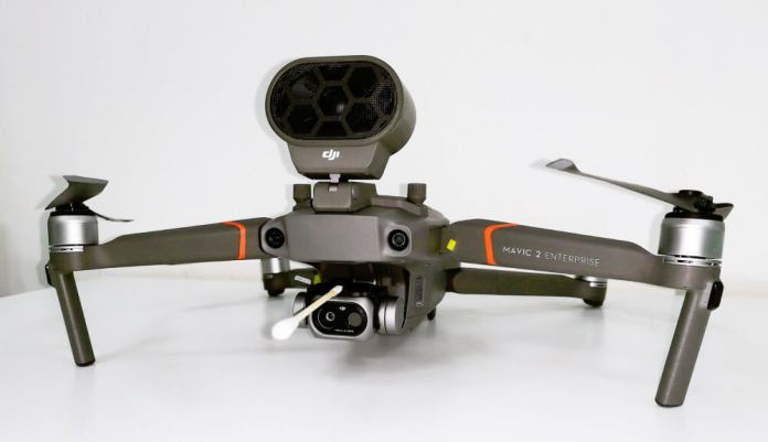 The DJI Tools that's Serving to within the Struggle In opposition to the Coronavirus - sUAS Information 1
