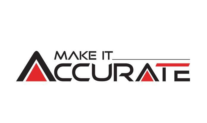 Make it Accurate scaled