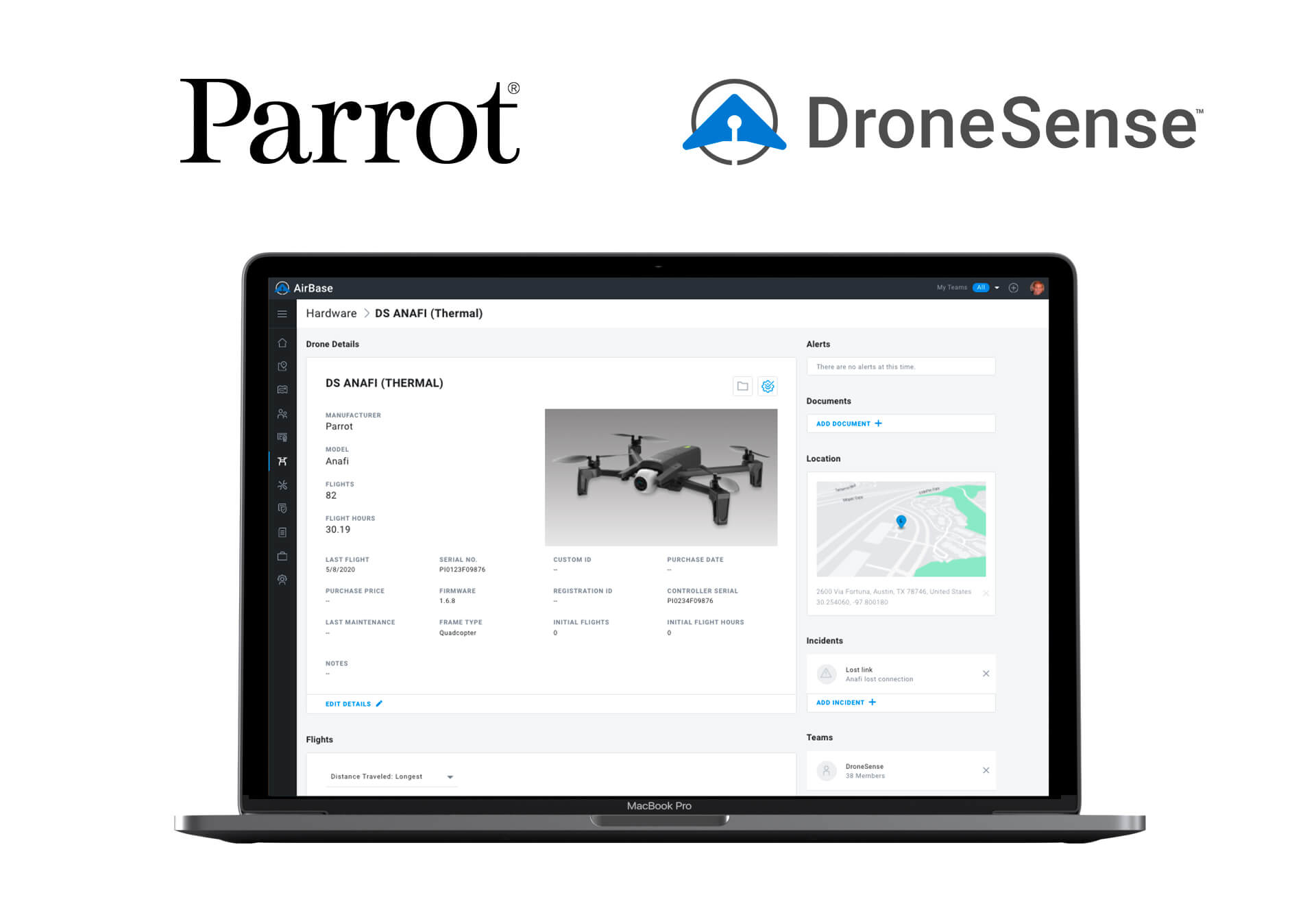 Parrot and DroneSense partner to better equip public safety UAS programs - sUAS News - The Business of Drones