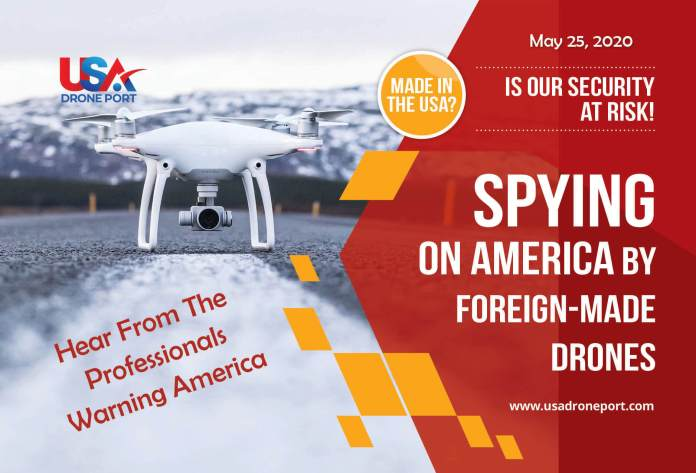 Spying on America with foreign-made drones - sUAS Information 1