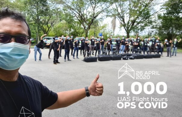 Aerodyne Drones Completes 1,000 Flight Hours( Distance Around the earth) in COVID-19 OPS - sUAS News - The Business of Drones
