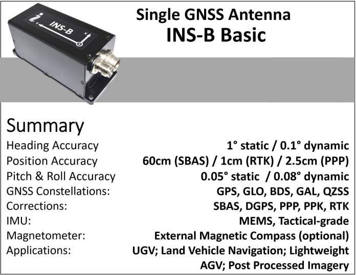 Compact and cost-effective GPS-Aided INS for Satcom connectivity throughout Past Line-Of-Sight (BLOS) UAV flights - sUAS Information 1