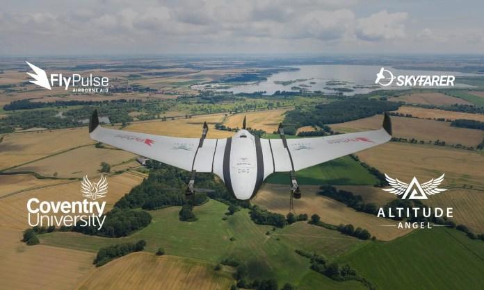 Altitude Angel Skyfarer FlyPulse CoventryUniversity Drone