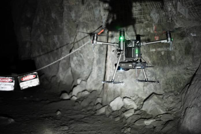 Emesent Velodyne AL2 Press Release Cave