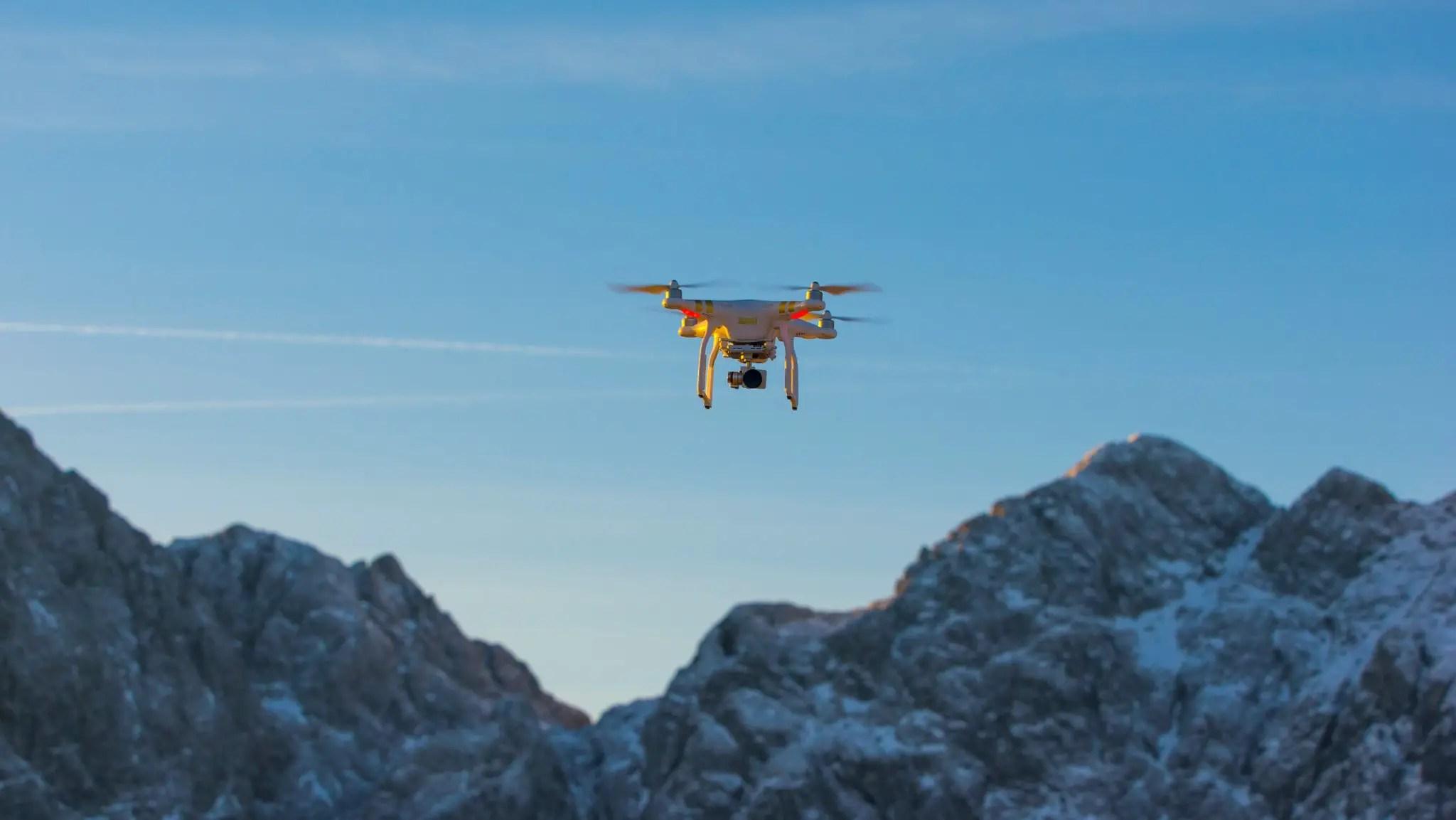 FREQUENTIS UTM picture drone