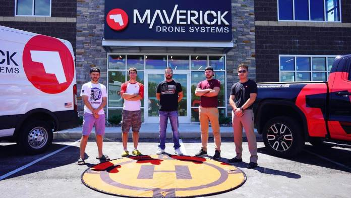 maverick drones folks