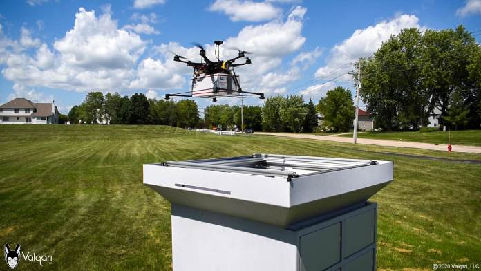 The AgEagle and Valqari On-Demand Drone Supply Resolution - sUAS Information 1