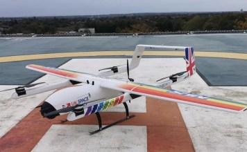 covid drone UK